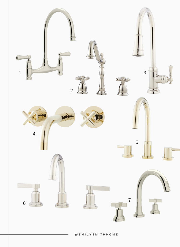 My Favorite Kitchen + Bathroom Faucets